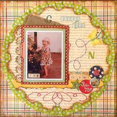 Garden Girl - ** Made With Memories **