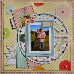 Sunshine and Happy Days - ** Scrapbookit **