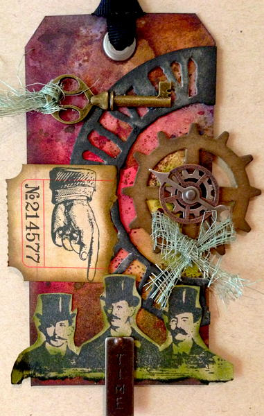 Wish - Tim Holtz Inspired Tag