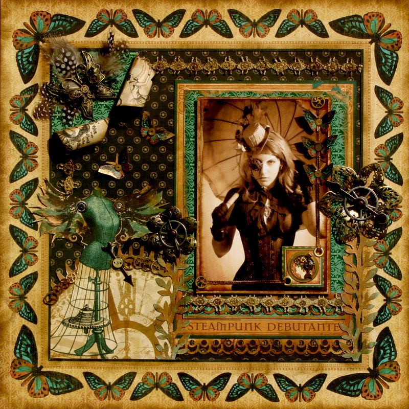 Miss Steampunk - ** Flying Unicorn **