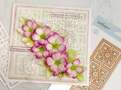 Lacy Floral Card