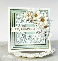 Lacy mothers day card