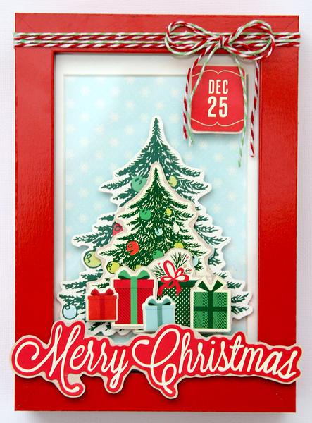~merry christmas~ frame