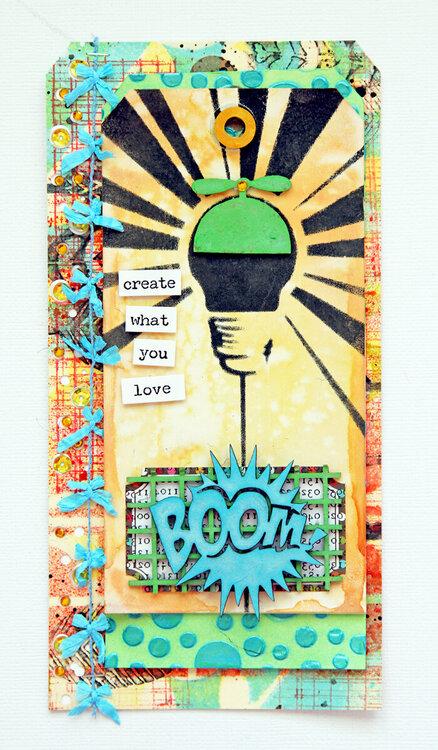 ~boom~ tag