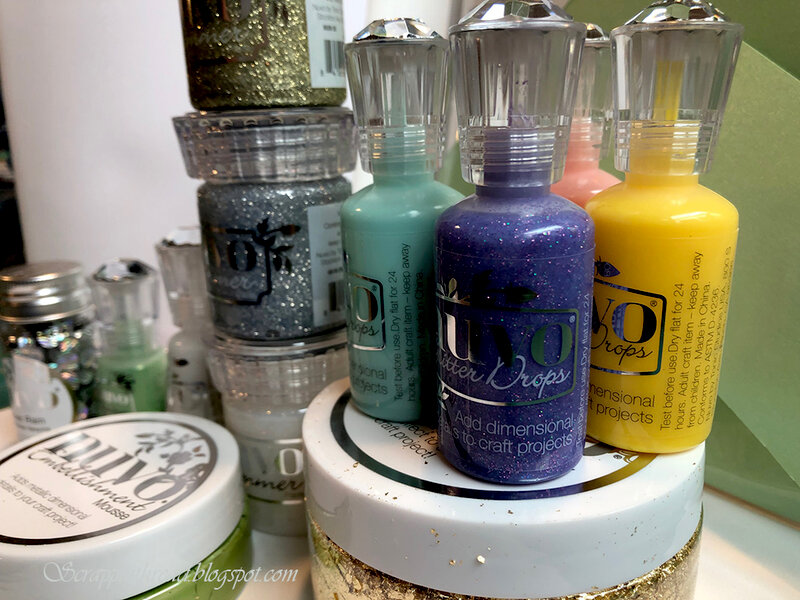 Some of my favorite Tonic Studios Nuvo goodies