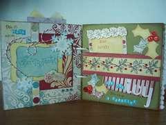 St. Nick mini book