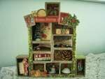 Tim Holtz Christmas Configurations Box