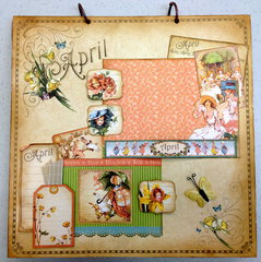 Place In Time April Layout