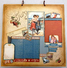 Place In Time July Layout