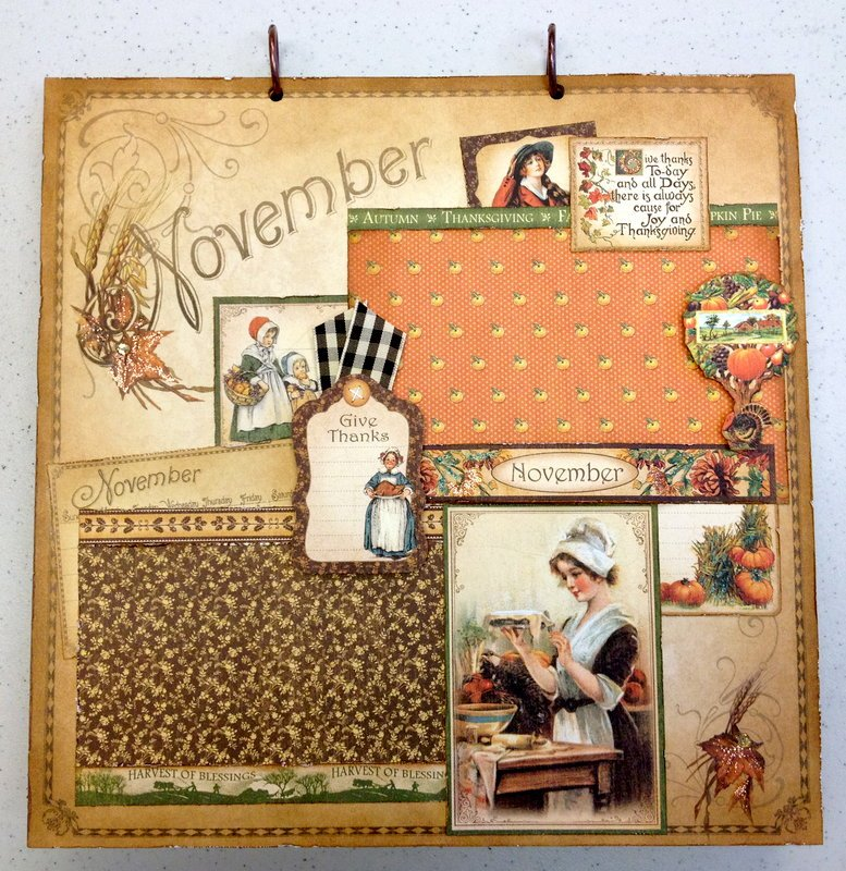 Place In Time November Layout