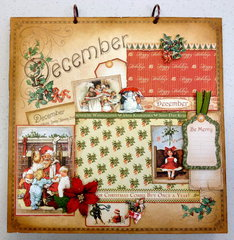 Place In Time December Layout