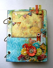Prima Mixed Media Canvas Album