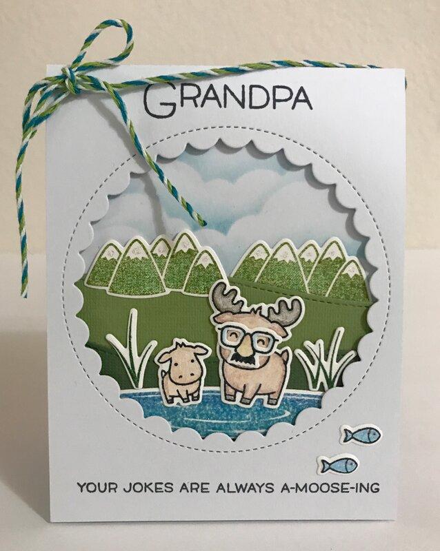 A-moose-ing Grandpa
