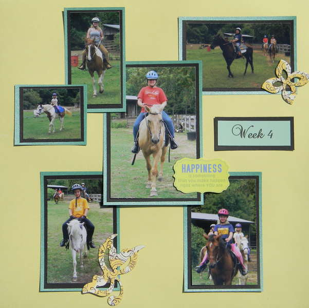 Horse Camp Layout