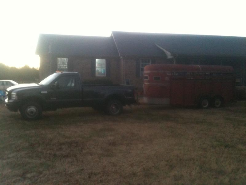 My truck and Trailer