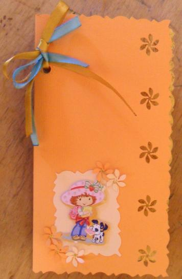 A card for a sweet little girl
