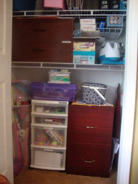 Scraproom Closet