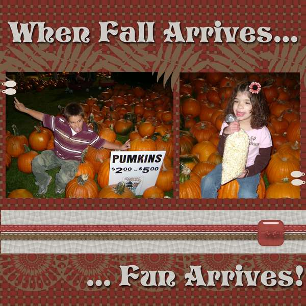When Fall Arrives...