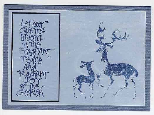 """""""Deer in Snow"""""""