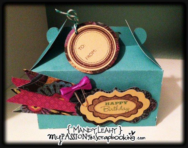 Artiste Gable Happy Birthday Box