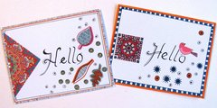 Note Cards Hello Pen & Ink