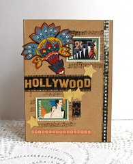 Note Card Hollywood Stamps