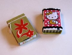 Matchboxes Flowers Hello Kitty