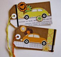 VW Bug Tags