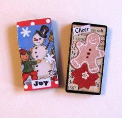 Dominos Snowman Gingerbread