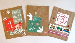 Advent Treat Bags 1-3