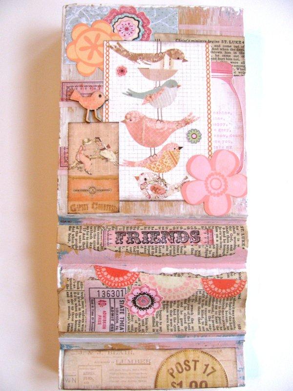 Collage Plaque Birds