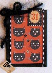 Halloween ATC Cats