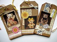 Teddy Bear Tags