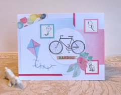 Note Card Bike Kite