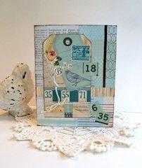 Note Card Bird Tag
