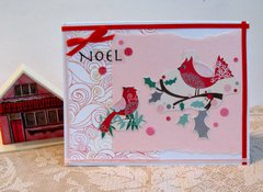 Christmas Card Cardinals