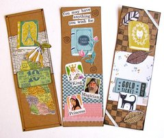Bookmarks French, Fairy Tales, Cats