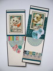 Cat and Dog Bookmarks