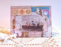 Note Card Row Boat