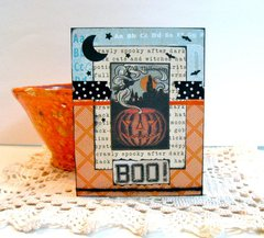 Halloween Card BOO!