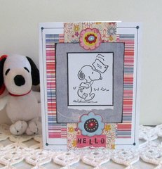 Note Card Snoopy 1