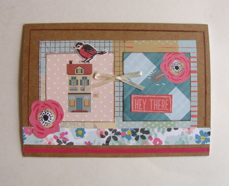 Note Card House Squares