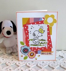 Note Card Snoopy 2