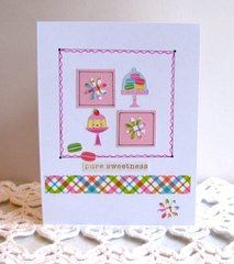 Note Card Sweet Cakes