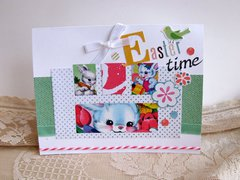 Note Card Easter Time
