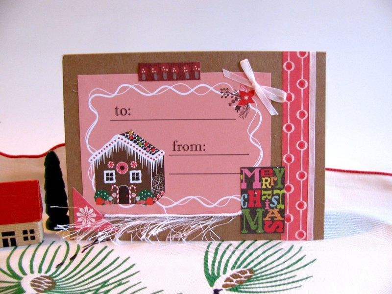 Christmas Card Gingerbread House