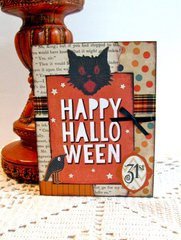 Card Happy Halloween
