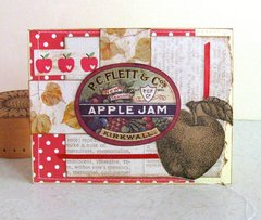 Note Card Apples