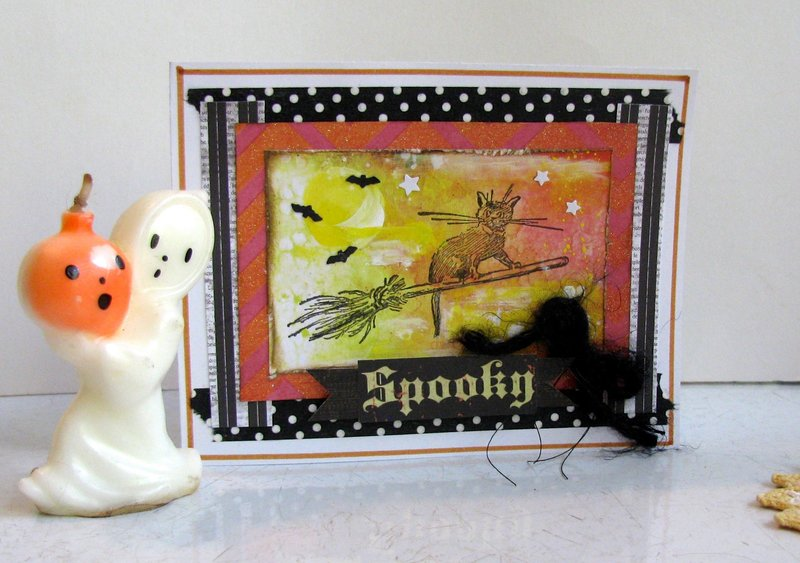 Halloween Card Cat 2
