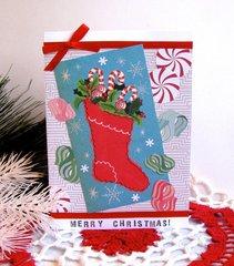 Christmas Card Stocking